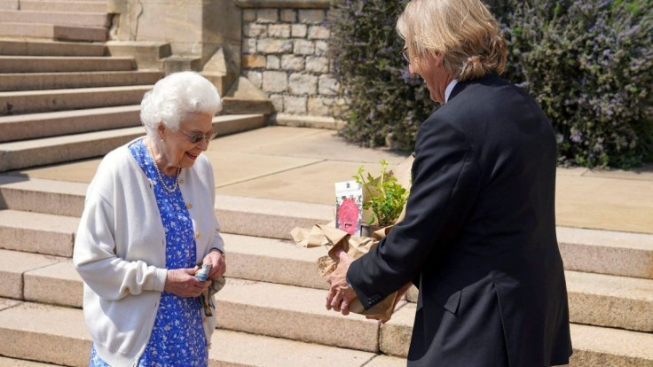 Na pamiatku zosnulého princa vysadili ružový ker.