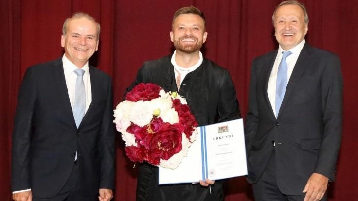 Pavol Bršlík, dostal ocenenie v Bavorskej štátnej opere.