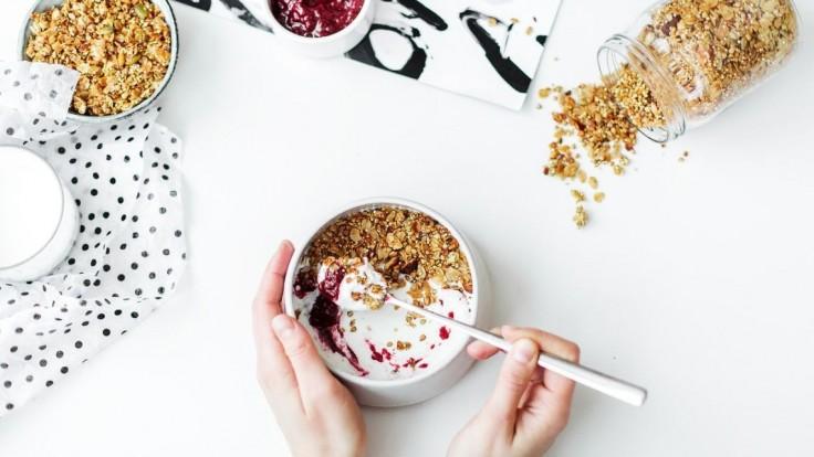 Jogurt na raňajky