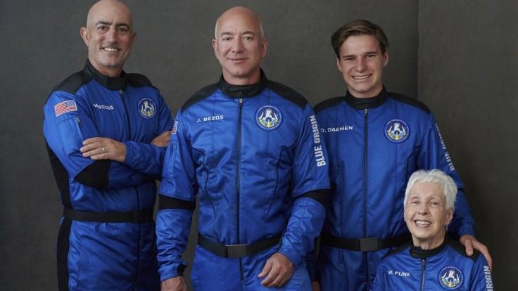 Posádka Blue Origin
