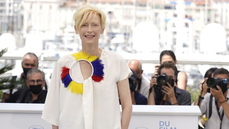 Tilda Swinton v Cannes