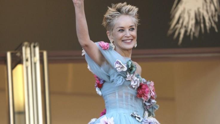 Sharon Stone v Cannes