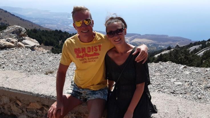 Peter Polaš s manželkou.