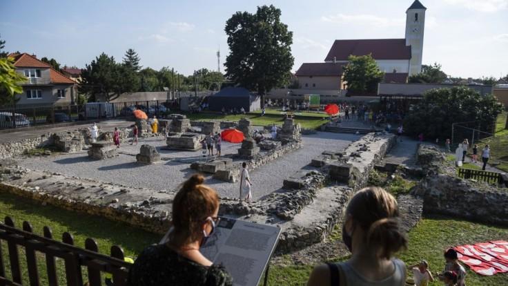 Gerulata v bratislavskej mestskej časti Rusovce.