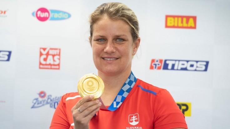 Zuzana Rehák Štefečeková získala najcennejší kov na olympiáde v Tokiu.