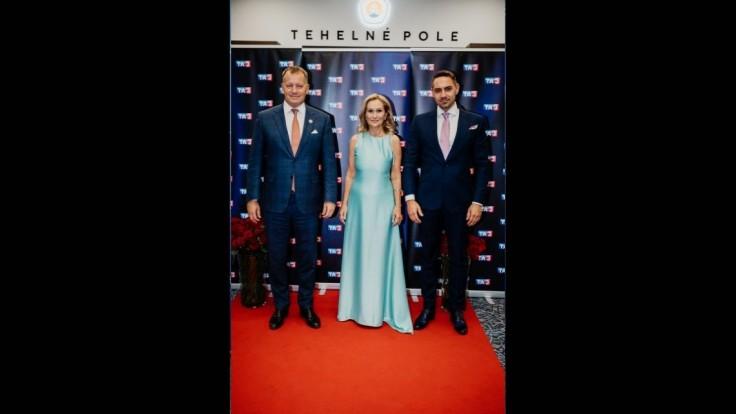Aj Boris Kollár prišiel zagratulovať Televízii TA3 k 20. výročiu.