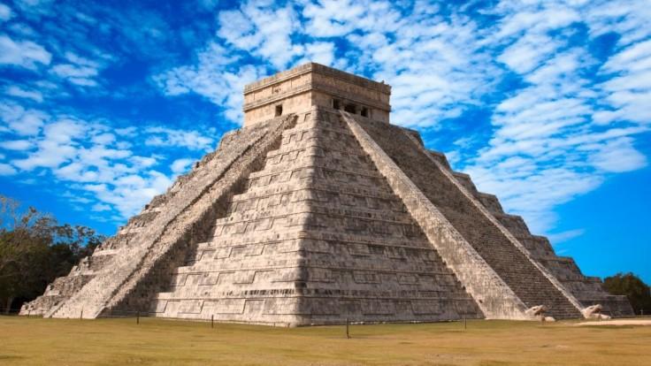 Jedinečná pyramída v Chichén Itzá