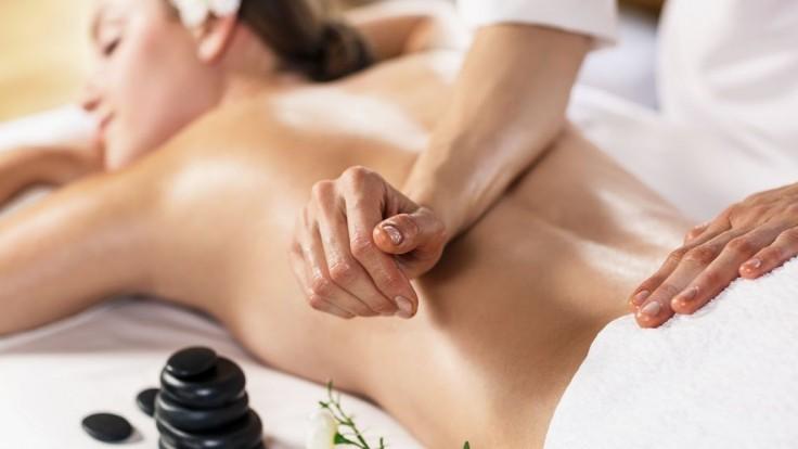 Skvelá relaxačná masáž.