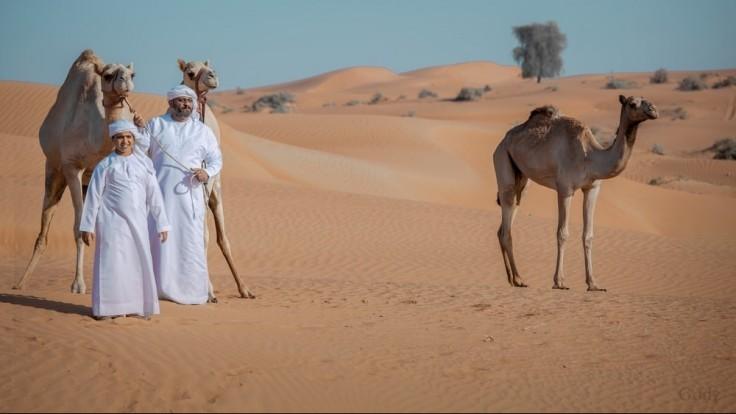 Emirátsky štvornohý poklad.