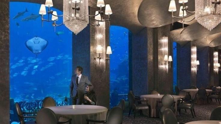 Reštaurácia v hoteli Atlantis the Palm.