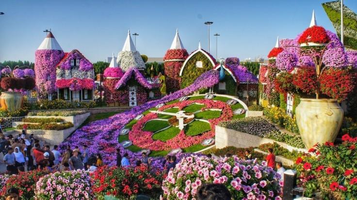 Dubai Miracle Garden.