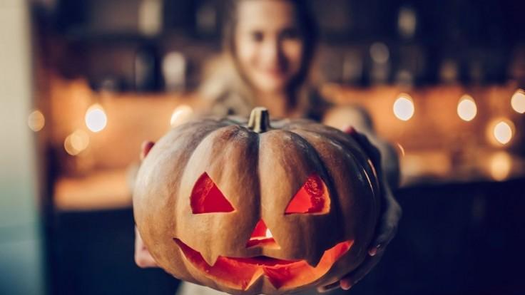Pravá halloweenska nálada.