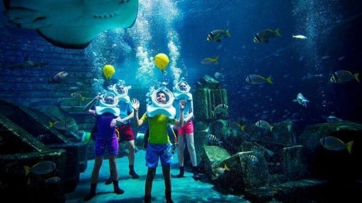 Vodné dobrodružstvo v hoteli Atlantis, The Palm.