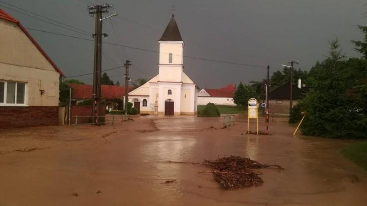 Silné búrky spôsobili viaceré škody