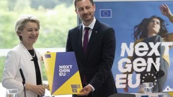 Predsedníčka Európskej komisie Ursula von der Leyenová na návšteve Slovenska.