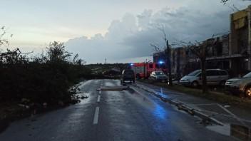 Búrky v Juhomoravskom kraji si vyžiadali obete na životoch a zranenia