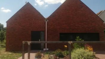 Zelená strecha v Zálesí v okrese Senec